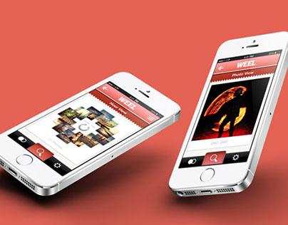 Weel — iOS Photo Application