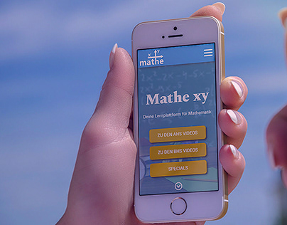 Website Mathe xy