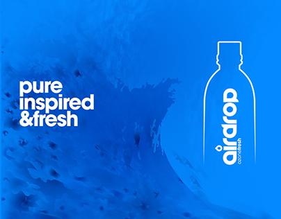 Aidrop Water Branding