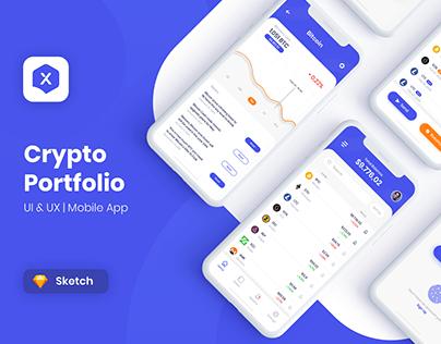 Crypto Portfolio - Mobile App