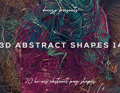 Free 3D Abstract Shapes 14