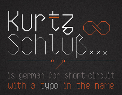 KurtzSchluss   typeface