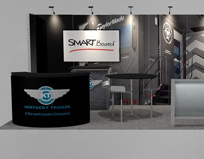 3D Exhibition Modeling and Rendering
