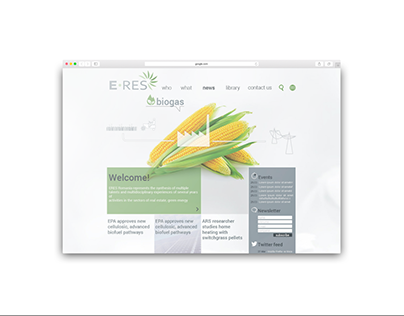 ERES Romania - Website Design
