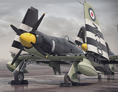 Royal Navy Hawker Sea Fury