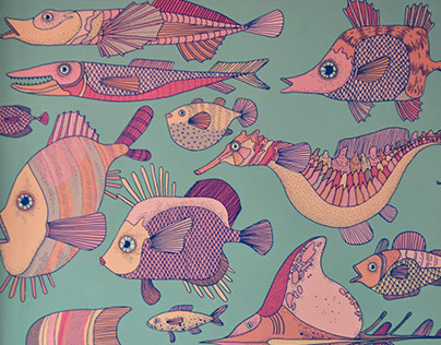 Mural: Peces I