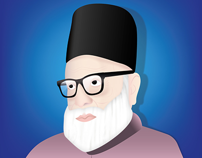 Molvi Abdul Haq Illustration