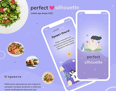 calorie counter mobile app design