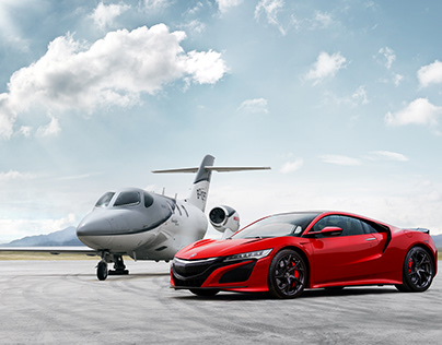 Acura NSX & Hondajet