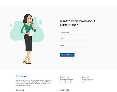 Recruitment Portal Website Design