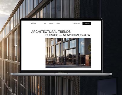 LOFTEC – Premium Estate Website