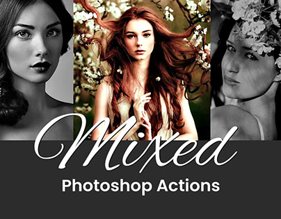 15 Free Breathtaking Mixed Photoshop Actions