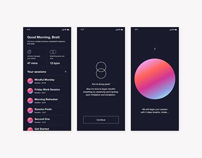Mindful - Experimental Wellness App
