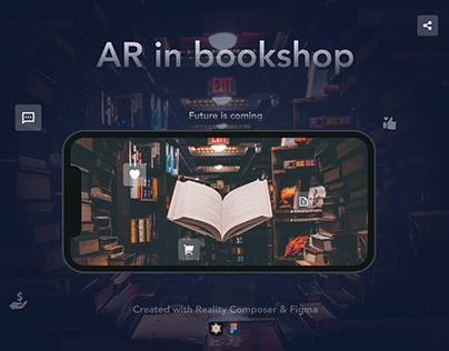 AR in bookshop
