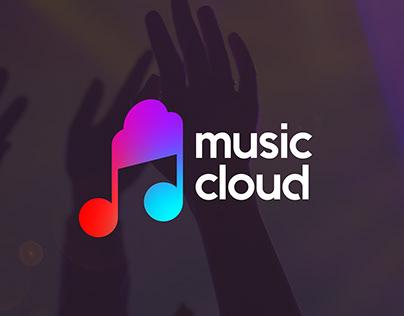 Music Cloud l Logo Çalışması