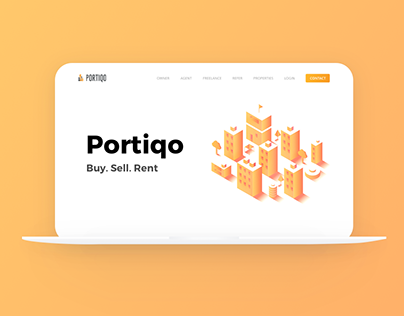 Portiqo — Website, App, CRM