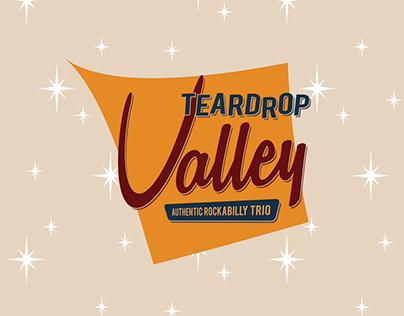 2015: Teardrop Valley - rockabilly band branding