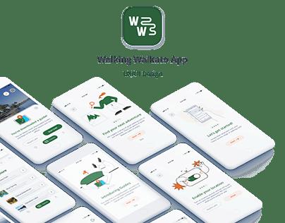 Walking Waikato App - UX/UI