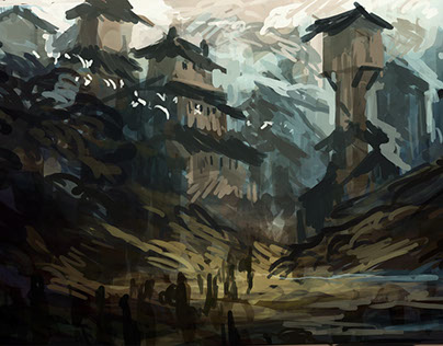 Daily Landscape Sketches II