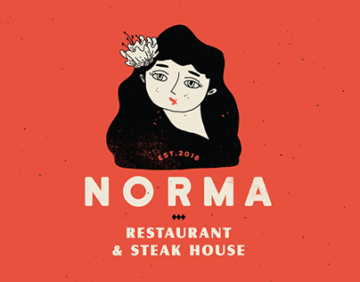 Norma Restaurant & Steak House | Branding