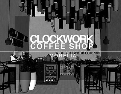CLOCKWORK COFFEE SHOP | MORELIA