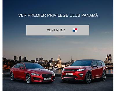 Sitio Web Premier Privileges Club