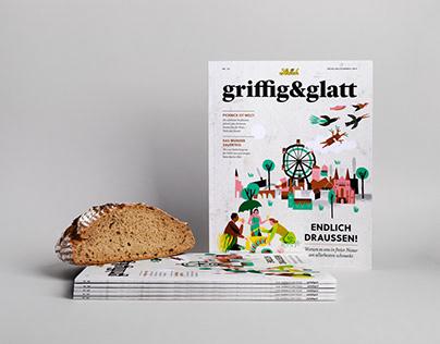 griffig&glatt Magazine No. 50 Magazine Design