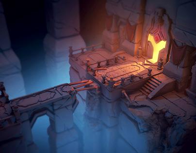 Ancient Underground Ruins