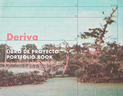 Deriva: Portfolio Book- layout design