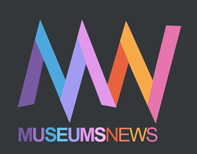 http://MuseumsNews.com logo design and branding