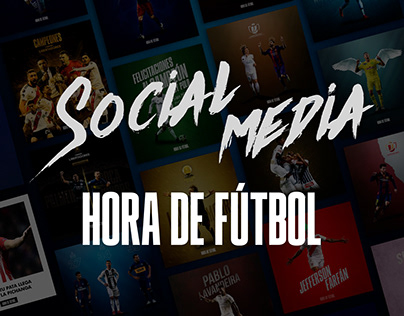 Hora de Fútbol - Social Media