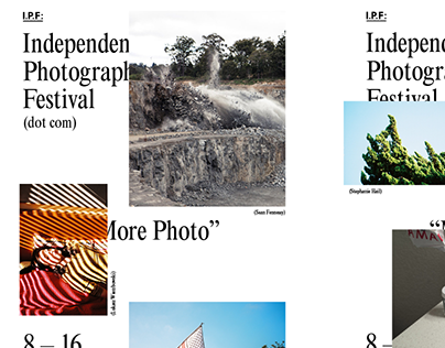 Independent Photography Festival 2014