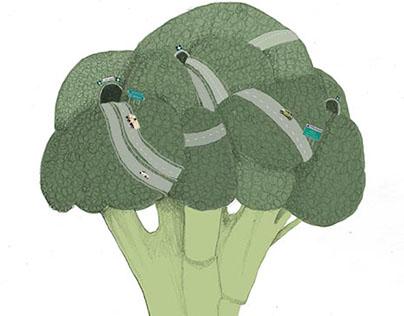 Broccolo stradale