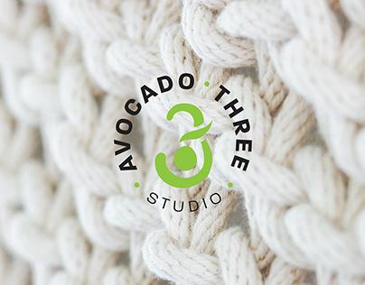 Logo: Avocado Three Studio