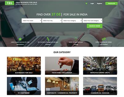 Dynamic Website Development for Truebusinessforsale
