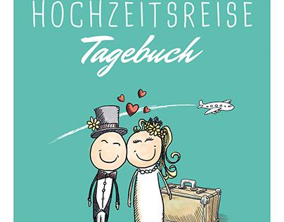 HOCHZEITSREISE Tagebuch. Book Illustrations