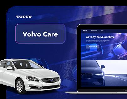 UX/UI Volvo Care