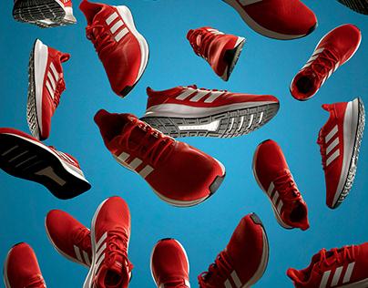 Adidas Runfalcon trainer cascade