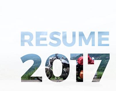 Resume | Winter 2017-18