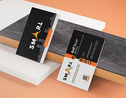 Business Card Design For SMART ltd.