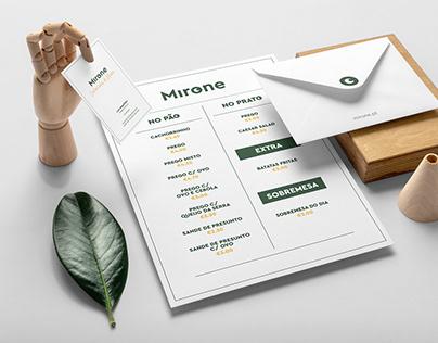Mirone | Brand & Web