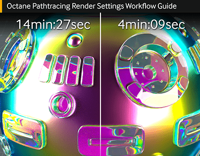 C4D Octane Pathtracing Render Settings Guide