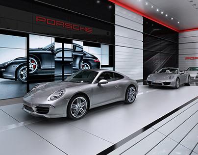 Porsche 911 Stand Concept