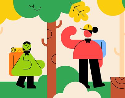 Scouts UK Illustrations
