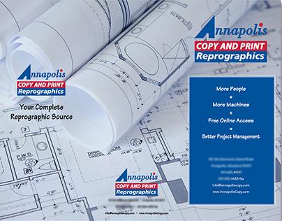 Annapolis Copy and Print Brochure