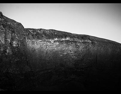 Cratere del Vesuvio - 2015 - Lunga esposizione