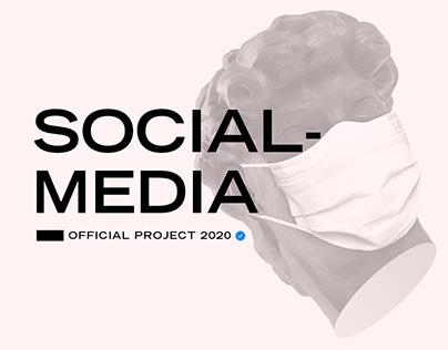 Social-Media Designs - Official Project 2020