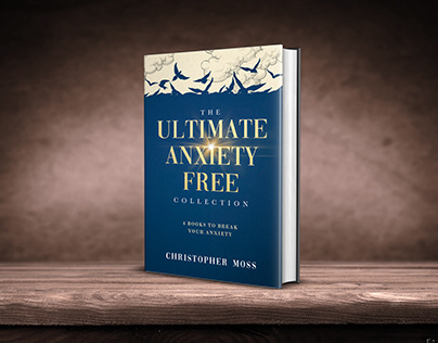 The Ultimate Anti-Anxiety Collection book cover design