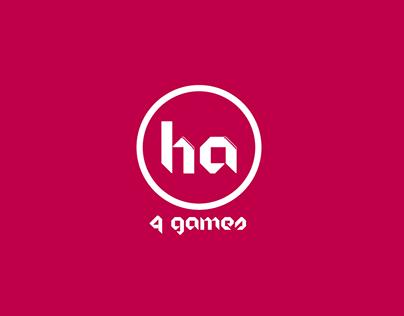 HA 4 Games | Logo