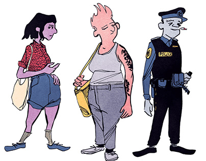 Downtown Characters